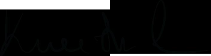 Kneitner Lea aláírás